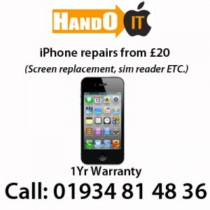 Apple iPhone repairs in Weston super Mare, from £20